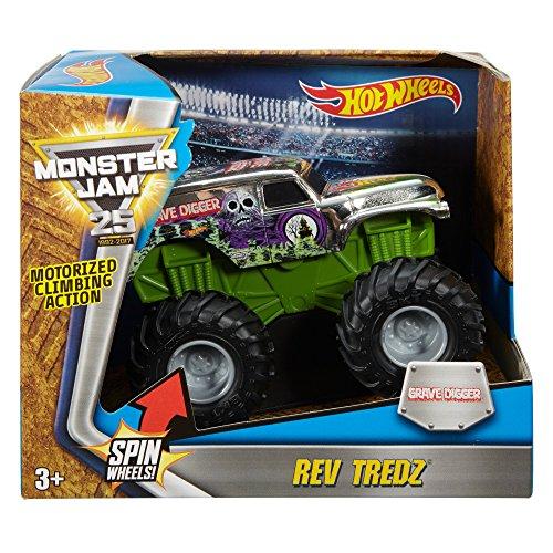 Wwe Monster Jam Rev Tredz Vehicle