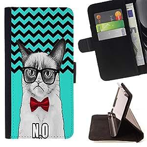 King Case - FOR Sony Xperia Z1 Compact D5503 - Love keeps the cold out - Prima caja de la PU billetera de cuero con ranuras para tarjetas, efectivo Compartimiento desmontable y correa para la mu?eca