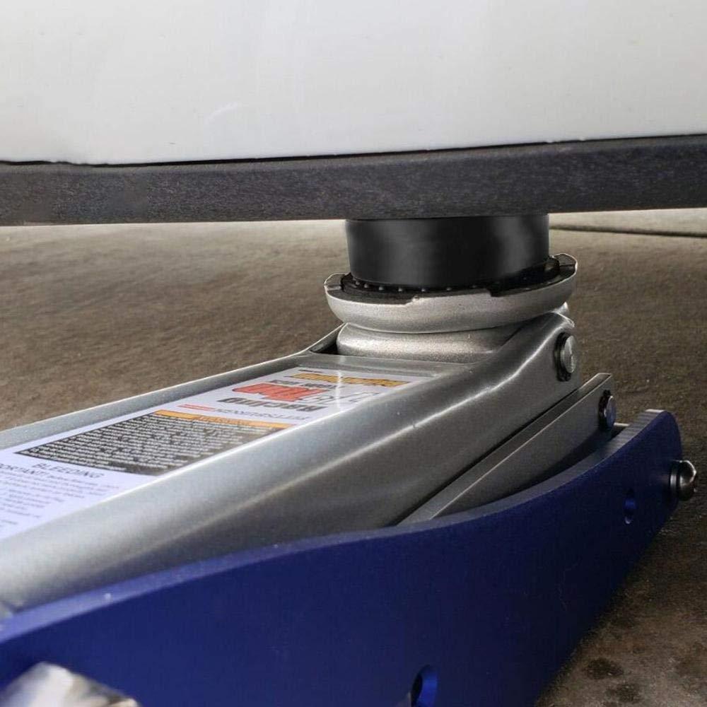 Adaptateur de Point de Levage Jack Prot/ège Le cric de la Batterie endommageante de Tesla Womdee 4PCS Tesla Model 3 Jack Pad Bloc en Caoutchouc Cric Tampon Hydraulique Cric de Levage Prot/éger