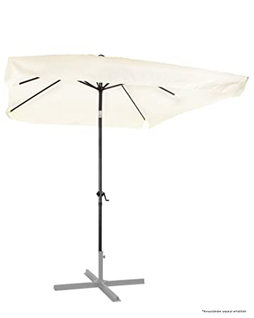 Amazon De Ondis24 Marktschirm 3x2 Meter Sonnenschirm Rechteckig Mit