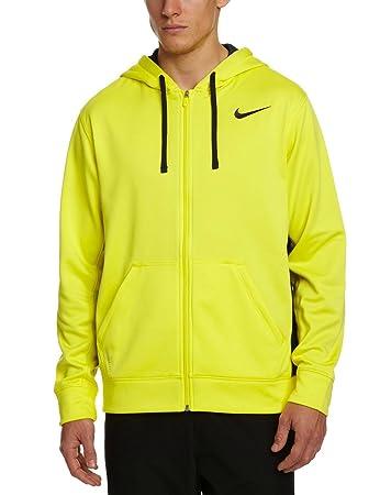 985ef77ed Nike Men's Therma-Fit Swoosh Full Zip Training Hoodie-Volt-Large:  Amazon.co.uk: Sports & Outdoors