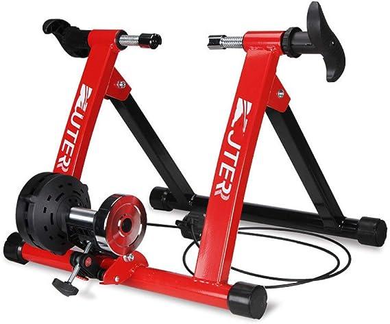 SMLJJ Estante de Entrenamiento de Bicicletas, Plataforma de ...