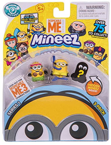 Despicable Me 3 Mineez Series 1 Character 3 Pack