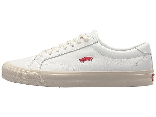 Vans Court Icon Salton Leather True White US Size Men 9.0 Women 10.5   Amazon.co.uk  Shoes   Bags 96efa4707