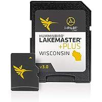 $116 » Humminbird 600025-8 LakeMaster Plus Wisconsin V3 Digital GPS Maps Micro Card