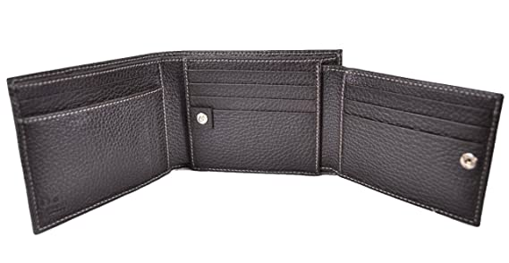 eb3d8449f2d Gucci 217044 Men s Crystal GG Guccissima Trifold Passcase ID Wallet   Amazon.ca  Clothing   Accessories