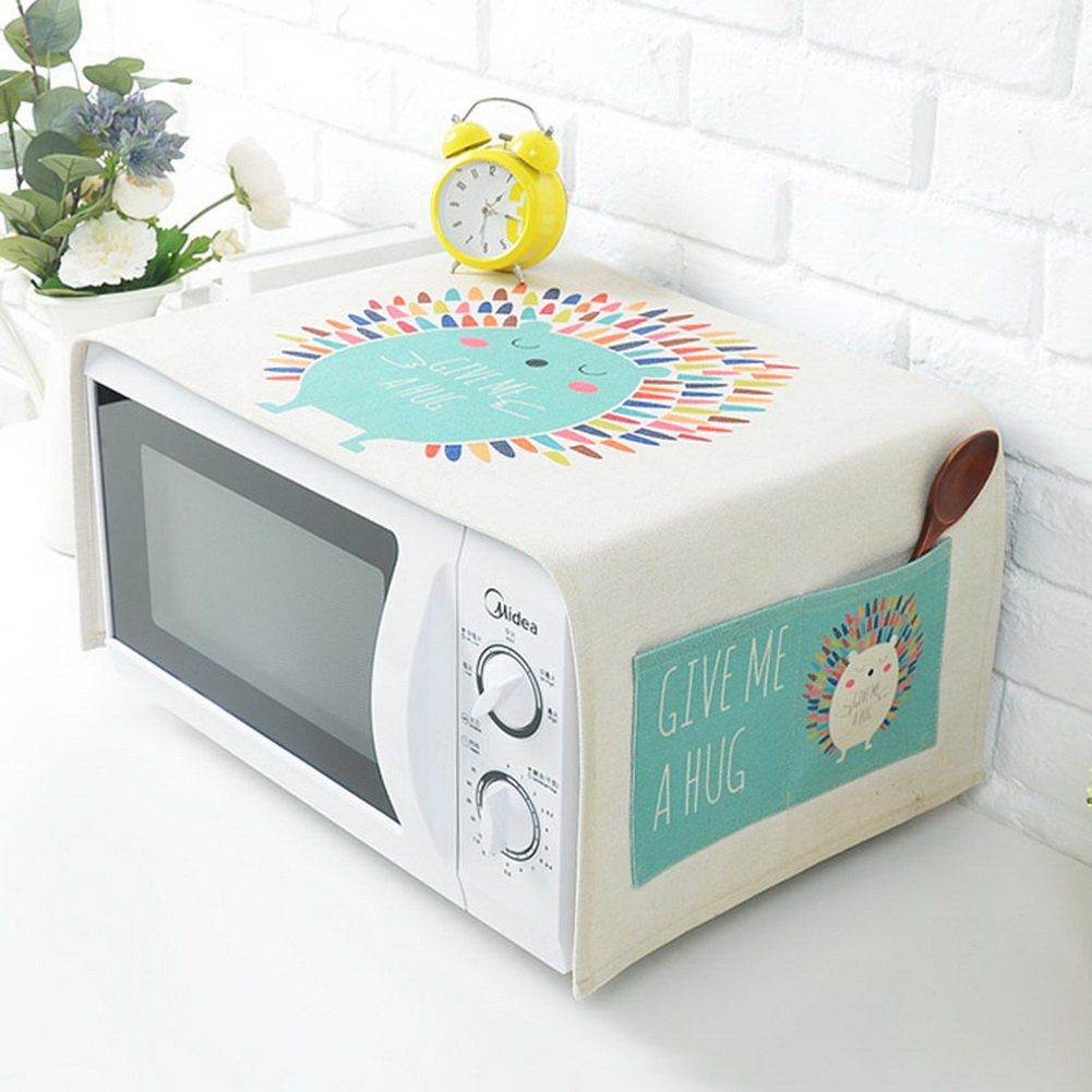 Amazon.com: Lovely Cartoon Horno de microondas Dust Cover ...