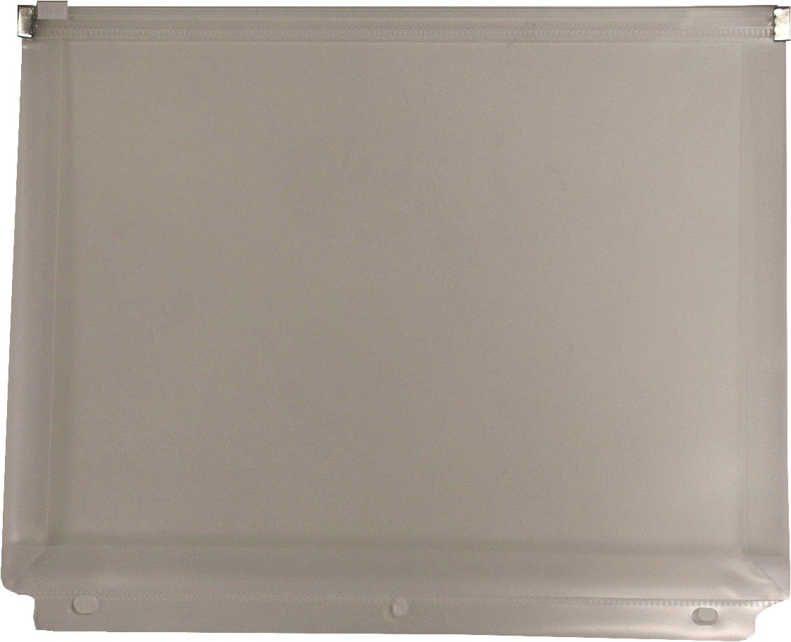 Filexec Pencil Pouch, Side-load, Zipper Closure, 3-Hole Punched, Clear (Pack of 12) (50092-18083)