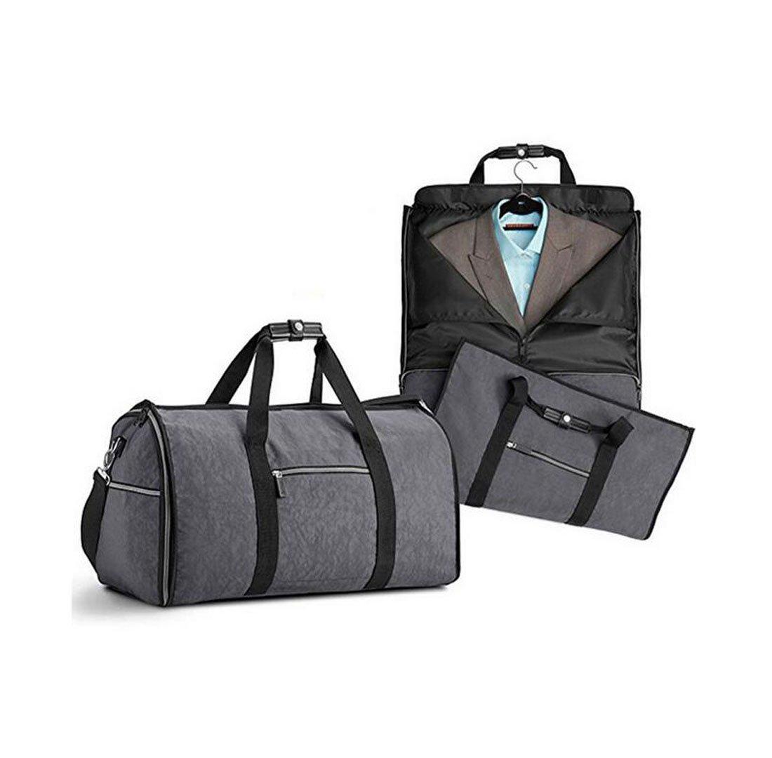 CYL Hohe Kapazität Falten Wasserdichte Anzug Reisetasche Multifunktions Handtasche Kleidung Reisetasche,grau