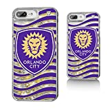 Keyscaper Orlando City Soccer Club Wave Gold Glitter iPhone 6+/7+/8+ Case MLS