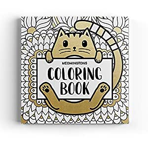 Meowingtons Cat Coloring Book for Adults