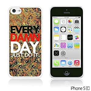 OBiDi - Typography Pattern Hard Back Case for Apple iPhone 5C - Just Do It