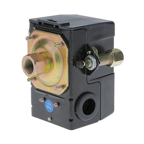 Interruptor Válvula de Presión Horizontal Única Control Compresor de Aire Puerto SG-5A
