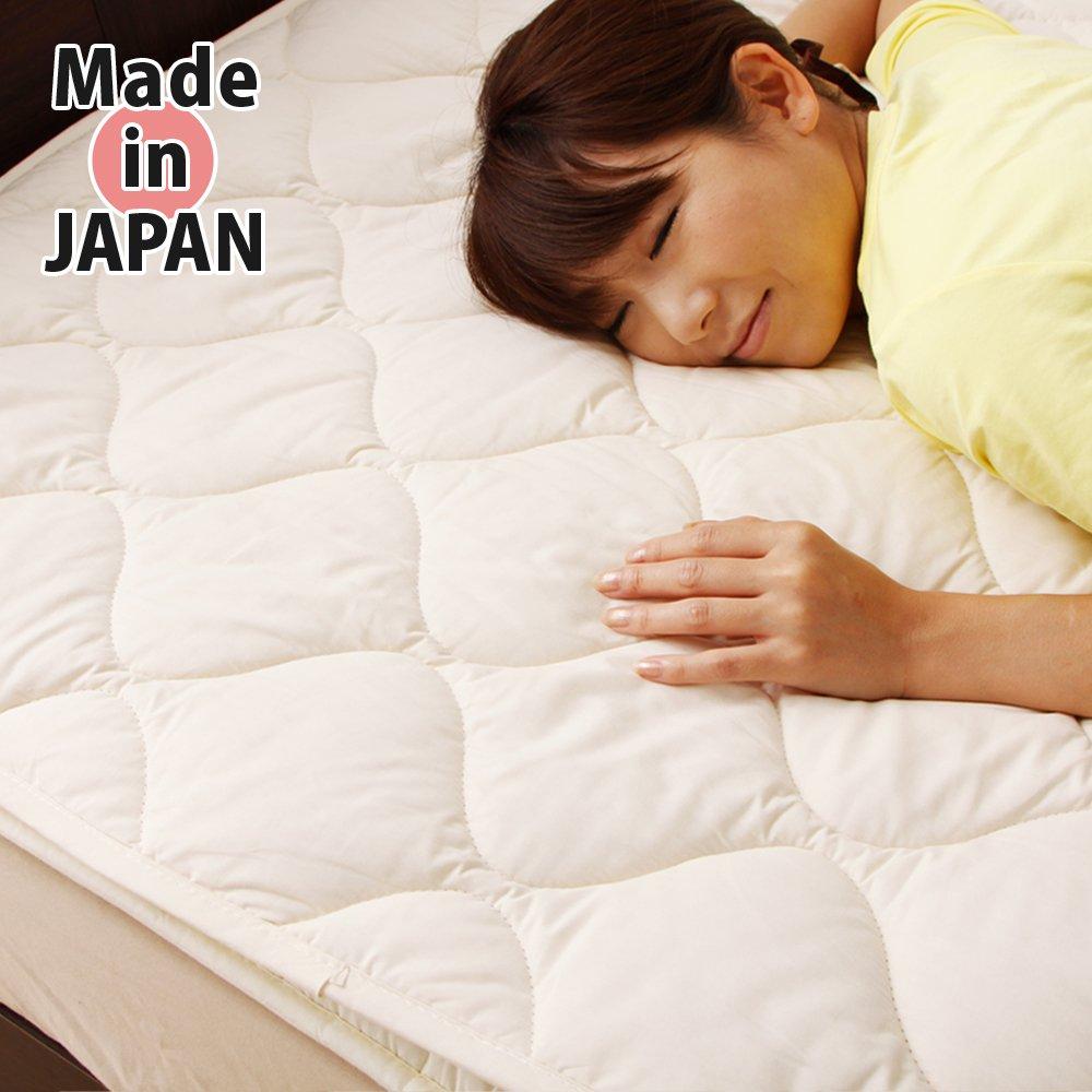 【秋冬におすすめ】羊/ウール100%温かい高級敷きパッド