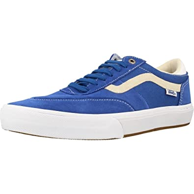 2579bd585c Vans Women s Gilbert Crockett 2 Pro Delft Blue White Skateboarding Shoes 11  M US Women