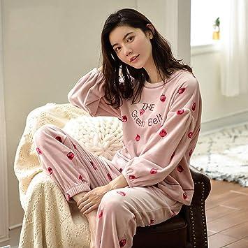 OLLIUGE Pijamas para Mujer Ropa De Dormir Batas Mujer Camisón Ropa De Noche Mujer Conjunto De