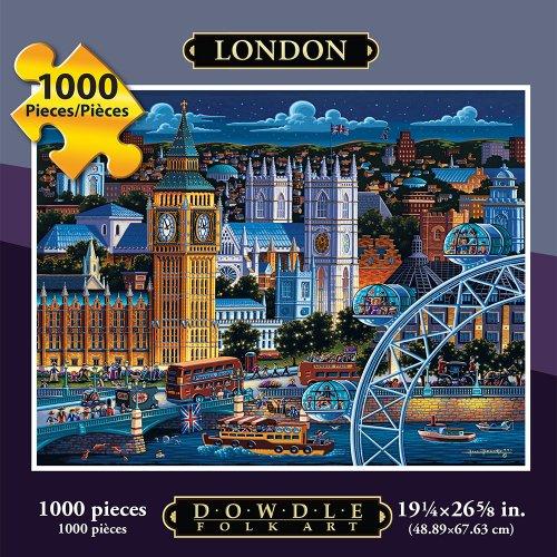 Jigsaw Puzzle - London 1000 Pc By Dowdle Folk Art