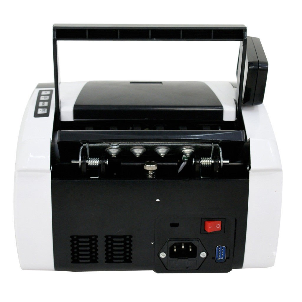 BBBuy Money Counter with UV/MG/IR Counterfeit Bill Detection, Counterfeit Alarm, 1000 Bills per Minute, Professional Cash Counting Machine by BBBuy (Image #5)