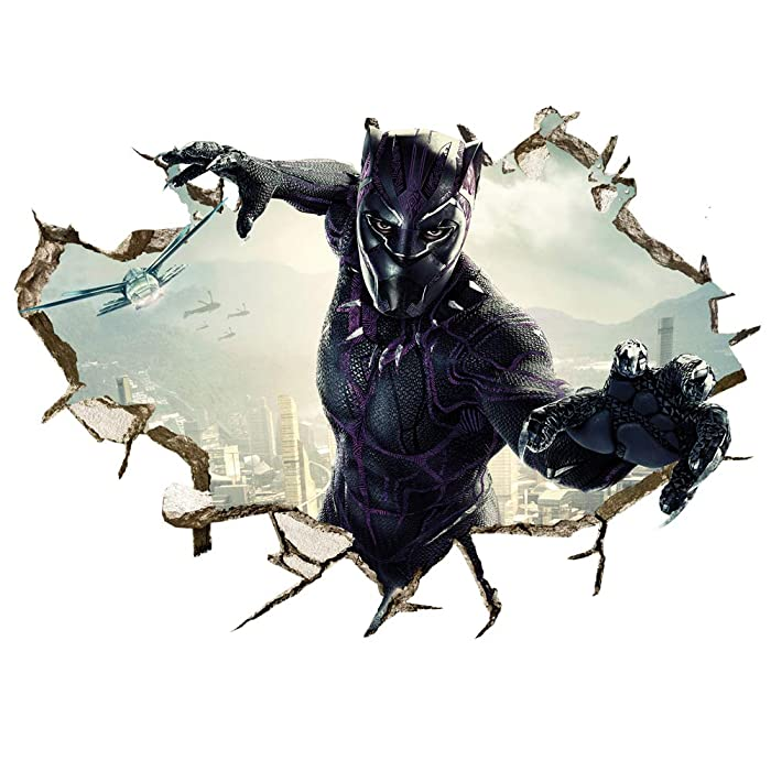 Los 9 Black Panther Wall Decor
