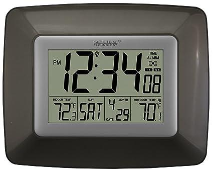 La Crosse Technology WS-8119U-IT-CHO At-mica reloj de pared