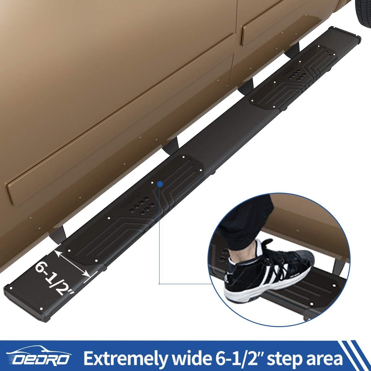 Running Boards Compatible with 2007-2018 Chevy