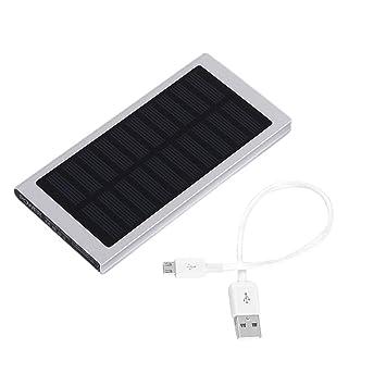 Cargador solar Power Bank 30000mAh, Cargador portátil con ...