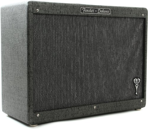 Rod Hot Bass - Fender GB Hot Rod Deluxe 112 1x12-Inch Guitar Amplifier Cabinet - Gray