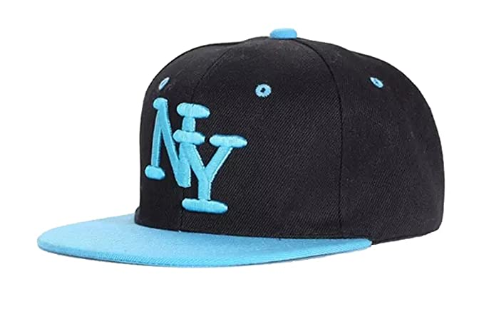 364c062f65b Amazon.com  Girls Boys New York NY Baseball Caps in 3 Designs (Blue ...