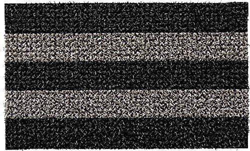 GrassWorx Clean Machine Patio Stripe Doormat, 18