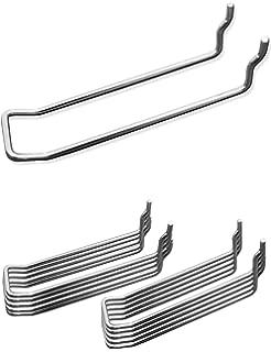 Sinblue Stecktafel Haken 53 Stk Stecktafel Regal Set Pegboard Haken Sortiment Peg Board Hook f/ür Organisation Storage Shop Tools Werkbank Schule Tools