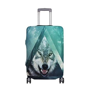 Amazon.com: YZGO - Maleta de viaje geométrica con diseño de ...