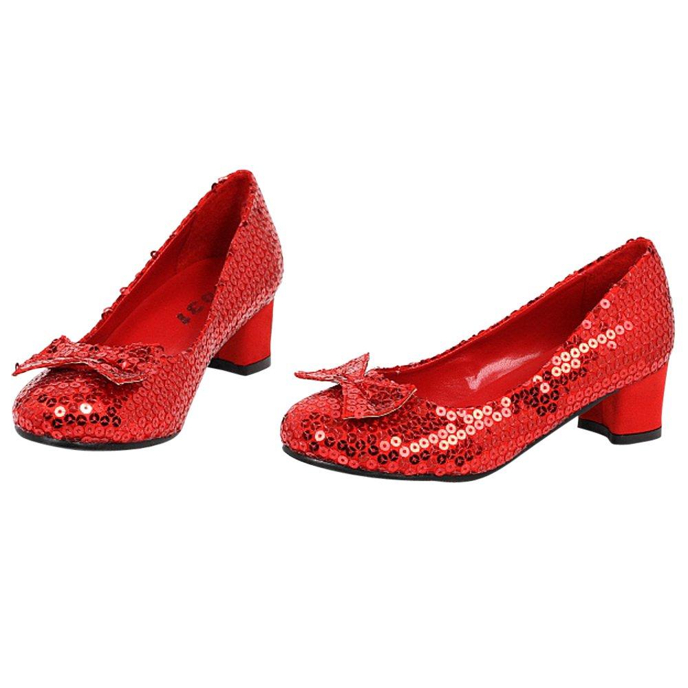 Children's Red Sequin Shoes Ellie