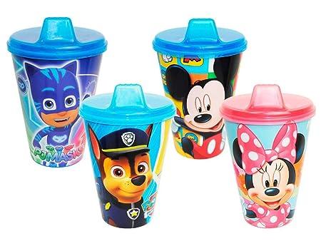 Lote de 10 Vasos Infantiles con Chupeta (Modelo a Elegir ...