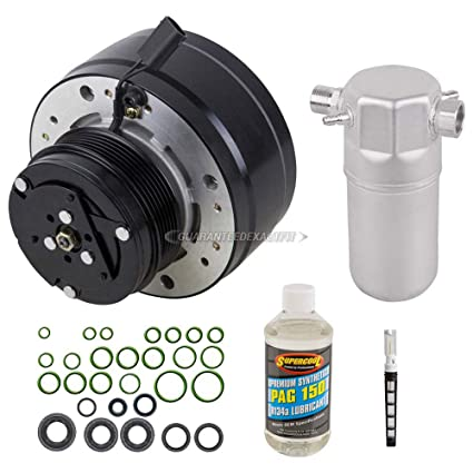 AC Compressor w/A/C Repair Kit For Chevy S10 Blazer & GMC Sonoma Typhoon -  BuyAutoParts 60-80304RK New