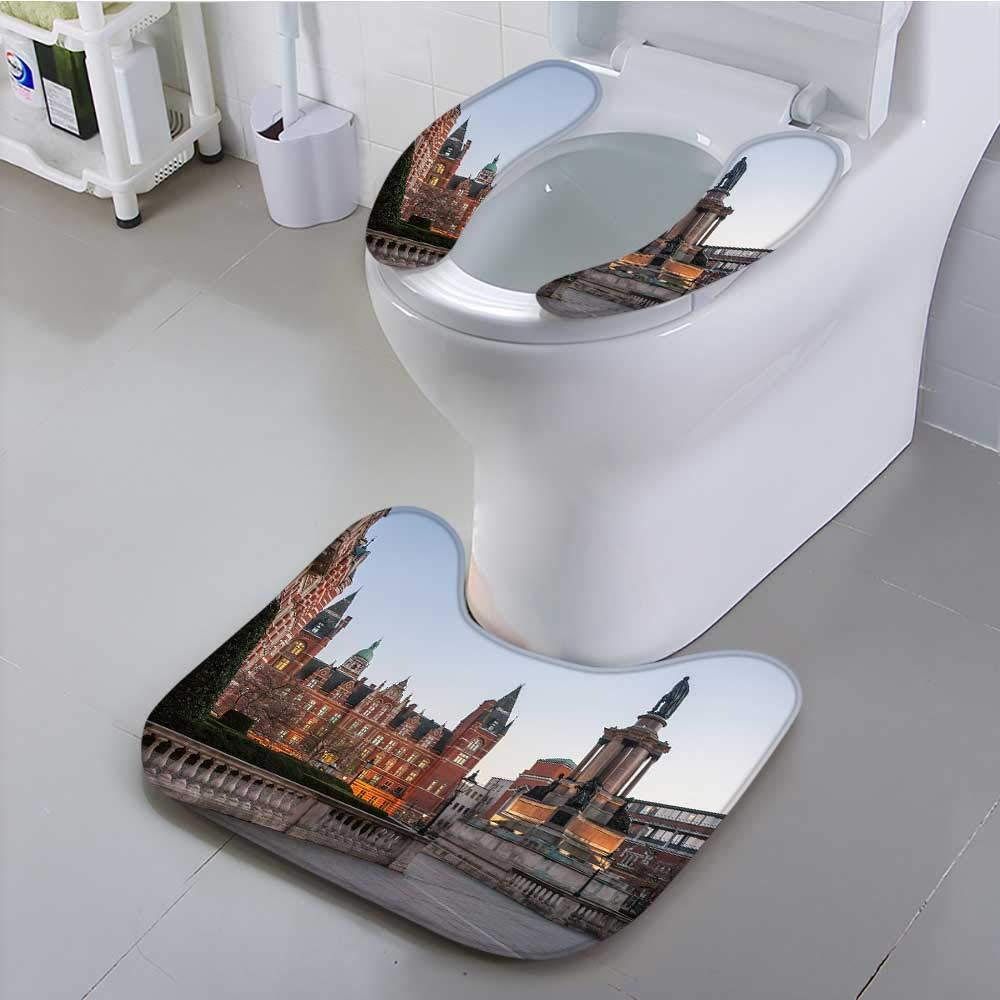 UHOO2018 Toilet seat Cushion Imperial College in London Machine-Washable