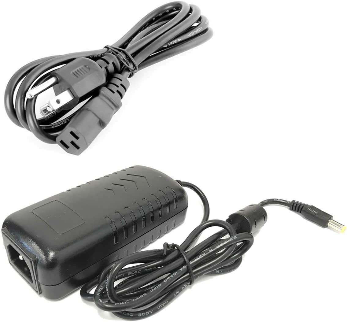 HDView 12V DC 5A 5000mA Power Adapter Supply UL Listed Certified 2.1mm 5.5mm, Power Transformer for Security Camera, 110-240V AC Input, Best Quality