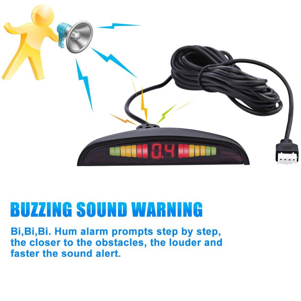 Amazon com: Auto Parktronic LED Display Reverse Backup Car