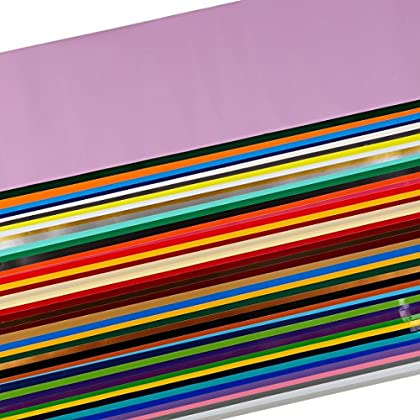 Image of Adhesive Vinyl Oracal 651 Assortment of 47 Colors Each 5 Feet Long Starter Value Pack