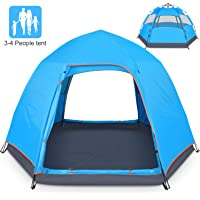Battop 4 Person Double Layer Family Camping Tent