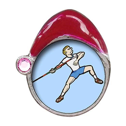 Juegos Olímpicos Atletismo la postura de tiro de jabalina de ...