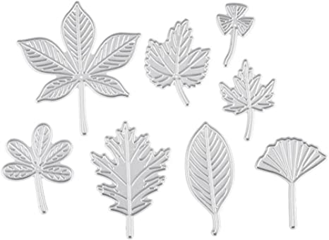 Autumn Leaves Cutting Dies Embossing Machine Stencils Scrapbook Crafts Accessory