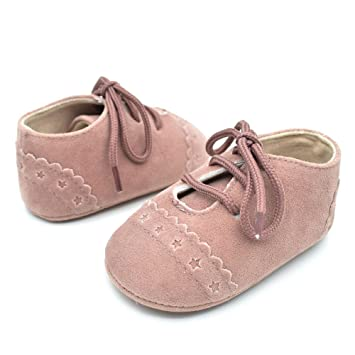 070ce5f46 Amazon.com: Best 2018 Infant Baby Girl Boys Lace up Sneakers Soft Soled  Anti-Slip Toddler Shoes (12~18 Month, Pink): Beauty