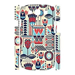 3D Sexyass Tribal Chevron Illustration Cases for Samsung Galaxy S3, with White
