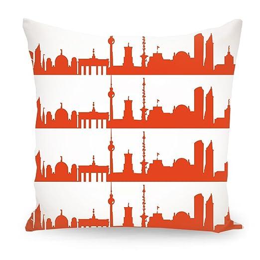artboxone Cojín abstracto Ciudades Ciudades/Berlin de viaje ...