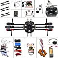 QWinOut 6-axis Hexacopter Drone: Tarot 680PRO Frame + 700KV Motor + GPS + APM 2.8 Flight Control + AT9 Transmitter + Hook & Loop Fastening Tape