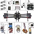 QWinOut 6-axis Hexacopter Drone: Tarot 680PRO Frame + 700KV Motor + GPS + APM 2.8 Flight Control + AT9 Transmitter + Hook & Loop Fastening Tape