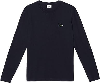 Lacoste Crew Neck Camiseta para Hombre: Amazon.es: Ropa y accesorios