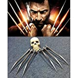 Plastic X MAN Wolverine Claws Halloween Custume Cosplay Props