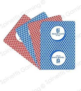 Treasure island casino playing cards illinois poker gambling law