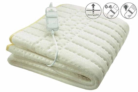 Silvercrest - Manta eléctrica para cama (80 x 150 cm): Amazon.es: Salud y cuidado personal